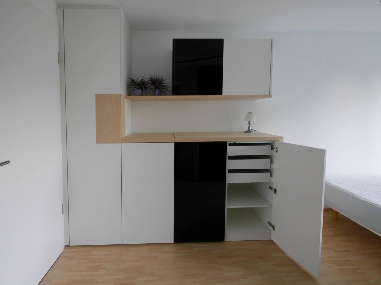 Hartmann wohnfuhlen for Schrank mit integriertem tisch